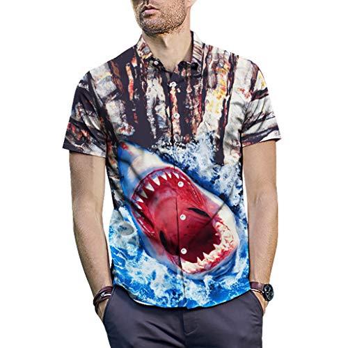 530482bda00ca para Hombre Mangas Largas Denim Costura Camisas Algodón Slim Fit Camiseta  Golf Poloshirt T-Shirt