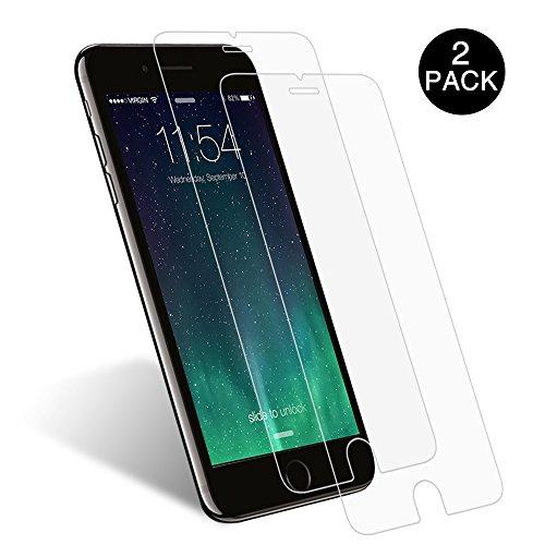"""Schutzfolie für iPhone 7 iPhone 8, [2 Stück] Yotece Panzerglas für iPhone 7 iPhone 8, 9H Härtegrad, Utra Klar Glatt, perfekt schutz vor Wasser, Staub, Kratzern, Blasefrei, Fingerabdruck-frei4.7"""""""