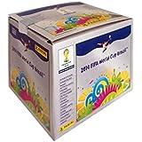 Panini 800606 - Fifa World Cup Brasil 2014, Sammelsticker im Display, 100 Tüten a 5 Sticker
