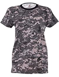Rothco Womens Long Length Camouflage T-Shirt