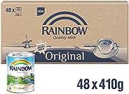 Rainbow Evaporated Milk 410 Grams 48 Pieces