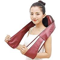 Preisvergleich für LOERO Shiatsu Rücken Nackenmassagegerät Elektrische Schultermassage mit Tiefkneten Massage, einstellbare Intensität...