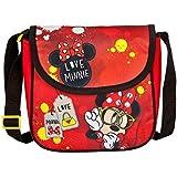 Disney Minnie Bolso de bandolera Bolsa para guardería 21 x 22 x 8cm