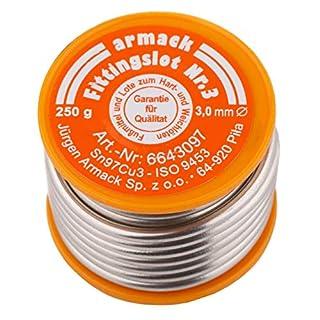 250 g Solder S-Sn97Cu3 Soldering DIY 3 mm for Plumbing