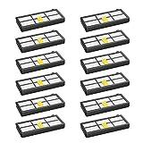 Set di 12 filtri per Irobot Roomba 800 850 851 860 865 866 870 871 876 880 885 886 890 891 896 900 960 966 980