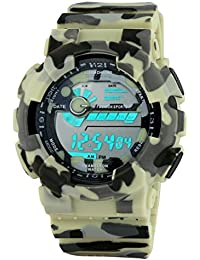 Gen-Y Army Multicolor Digital Watch - For Boys And Men