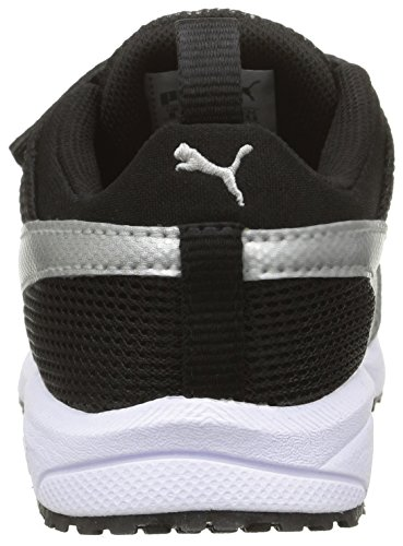 Puma Carson Runner, Multisport Outdoor Mixte Enfant Noir (Black/Silver)