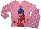 Miraculous Ladybug Official - Pijama dos piezas - para niño Rosa rosa 4 años