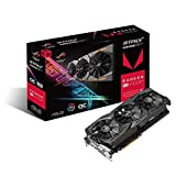 ASUS Carte Graphique ROG-STRIX-RXVEGA64-O8G-GAMING (OC Édition, AMD Radeon VEGA64, 8Go Mémoire...