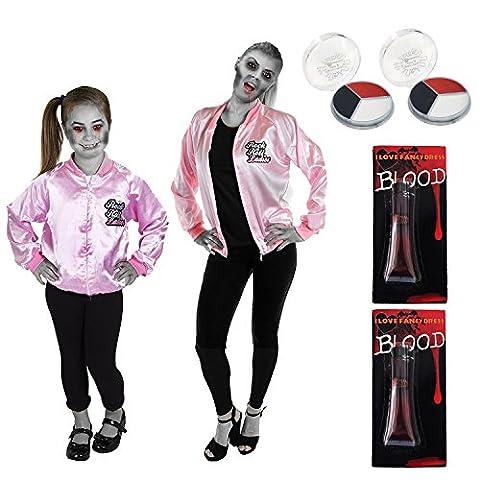 Rock And Roll Danse Costumes Pour Enfants - Déguisement accessoires de zombie Rock'n Roll pour