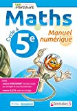 Manuel numerique iparcours maths cycle 4 vol. 5e (DVD enseignant monoposte)