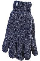 1 Paar Herren echte Wärme Inhaber Heatweaver thermische Handschuhe TOG 2.3 Marineblau L/XL