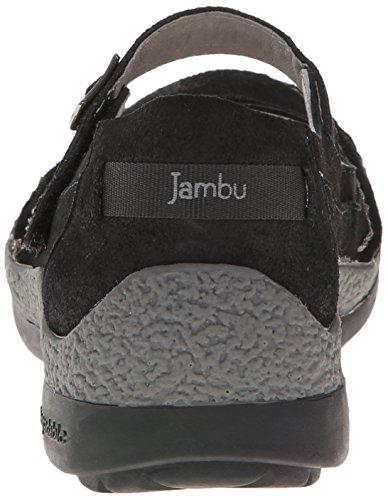Jambu Sloane Cuir Mary Janes Black