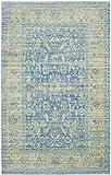 Safavieh Beaufort gewebter Teppich, VAL123M, Blau / Mehrfarbig, 121 X 182  cm