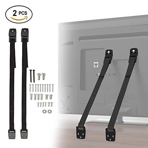 tv-furniture-child-safety-straps-anti-tip-1m-straps-2-pack-with-heavy-duty-nylon-adjustable-strap-bu
