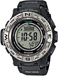 Casio PRW-3500-1ER - Reloj (Reloj de pulsera, Resina, Negro, Acero inoxidable, Resina, Negro, Mineral)
