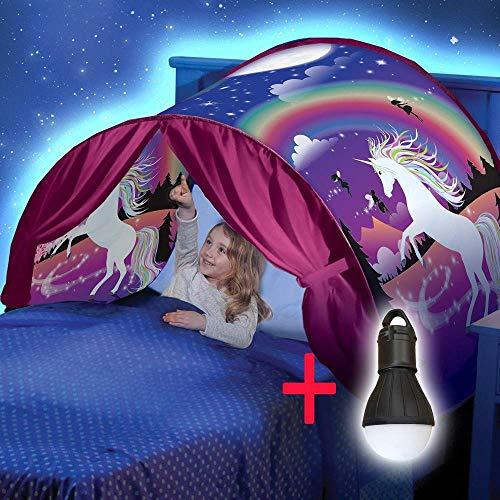 Xpartner tenda pieghevole per bambini con tenda pop-up luminosa per bambini