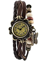 Unique Hunt New Arrival Special Collection Butterfly Dori Festive Season Special Analog Dial Brown Leather Dori...