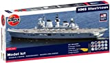 Airfix A50059 Royal Navy HMS Illustrious 1:350 Scale Plastic Model Gift Set