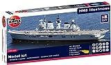 Airfix A50059 Royal Navy HMS Illustrious 1:350 Scale Plastic Model Gift Set