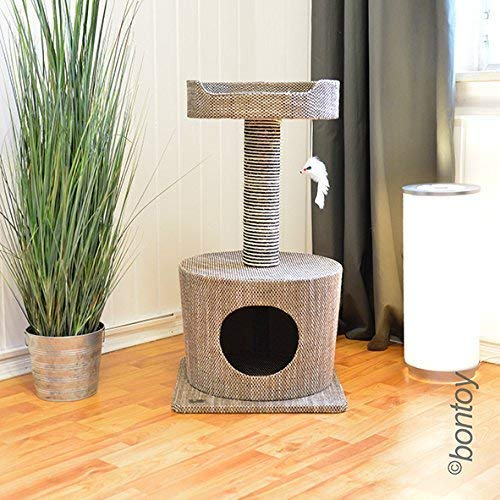 Bontoy Kratzbaum Lisa grau/braun 72cm