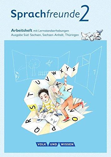 Sprachfreunde - Ausgabe Süd - Neubearbeitung 2015: 2. Schuljahr - Arbeitsheft: Schulausgangsschrift