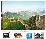 GREAT ART Poster - Chinesische Mauer - Wandbild Foto