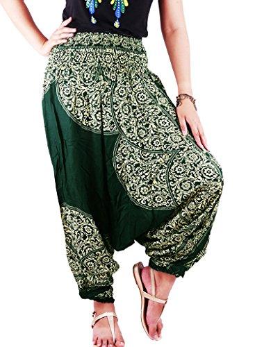 authenticasia-laithai-collection-2-in-1-harem-pants-jumpsuit-lt-03-green