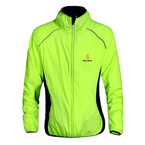WOLFBIKE Chaquetas Ciclismo Hombre Impermeable Y Transpirable
