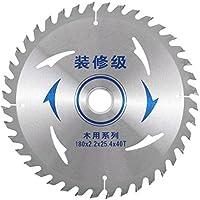 sourcingmap® 180mmx25,4mmx2,2mm 40T Circular de fresado de corte longitudinal de sierra de ranurar molino de cuchillas