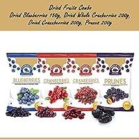 Wonderland Dried Blueberry 150g + Sliced Cranberry 200g + Whole Cranberry 200g + Prunes 200g