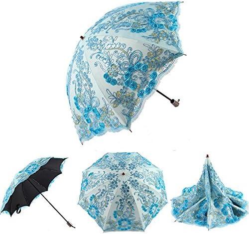 SHISHANG Ombrellone Ombrellone Ombrellone ombrello anti-ultraviolata creativo duplice doppio merletto pioggia ricami e pioggia dual metà strada 52 centimetri  8k piegare 3 selezione dei Coloreeei , 2 , radius  52cm8k B0721RYCZC Parent | Alla Moda  | Un equilibrio tra r fa469f