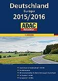 ADAC ReiseAtlas Deutschland, Europa 2015/2016 1:200 000