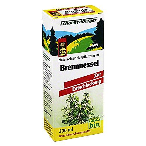 BRENNNESSELSAFT Schoenenberger 200 ml Saft