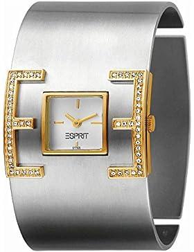 Esprit Damen-Armbanduhr E-Motion Bicolor Analog Quarz