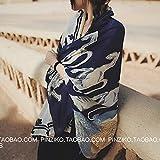 STJPJ Toalla de Playa Grande León y ángel Bufanda de algodón Primavera y Verano de Las