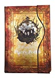 #4: Harry Potter Vintage Notebook Harry Potter Journal Book Diary Book/Hard Cover Note Book/Notepad/Agenda Planner Gift (Antique)