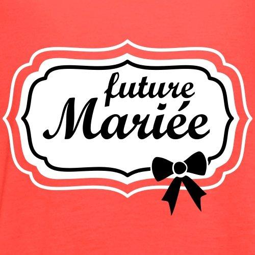 EVJF Future Mariée Débardeur Femme marque Bella de Spreadshirt® Corail