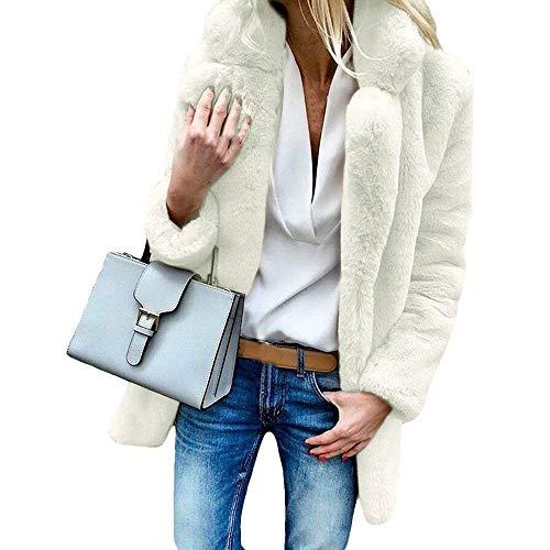BHYDRY Frauen-Winter-Mantel behalten warme Oberbekleidung-lose großen -