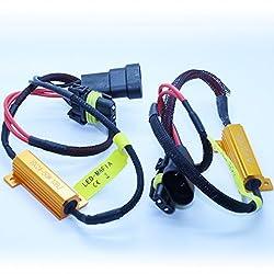 HB4 9006 Lastwiderstände 50 Watt 10 Ohm- LED Widerstand Widerstände Keine Fehlermeldung (HB4)