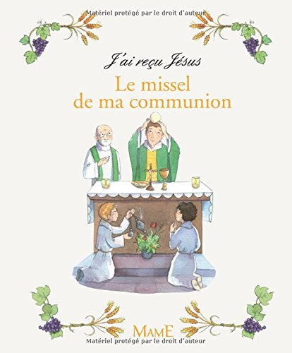 Le missel de ma communion par From Mame