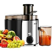 [Patrocinado]Aicok Licuadora Exprimidor De Frutas y Verduras Acero Inoxidable, Limpieza Fácil Con Cepillo, 400W, Libre de BPA