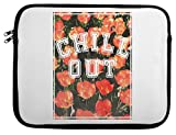 Chill Out Floral Texture Laptop Case 13