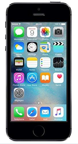 Apple Iphone 5s Smartphone Débloqué 4G (Ecran: 4 pouces - 16 Go - Carte Nano SIM - iOS) Space Grey (Import Europe)