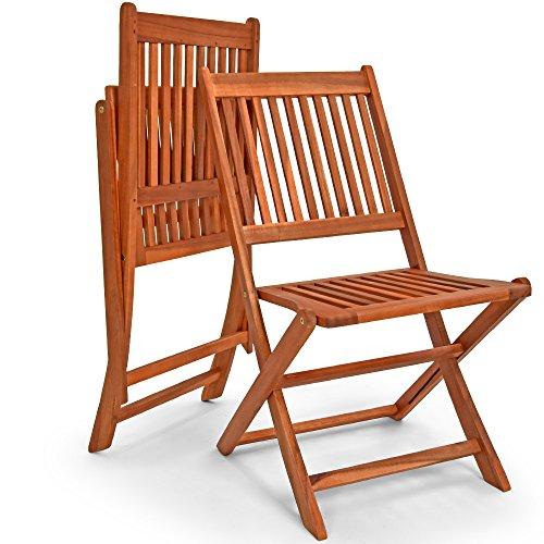Deuba Wooden Garden Furniture Dining Set Sydney Light FSC�-Certified Acacia Wood 4 Seater