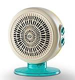 Olimpia Splendid Termoventilatore 2200 W Design Italiano 99416 Caldo Circle 22 A, Azzurro