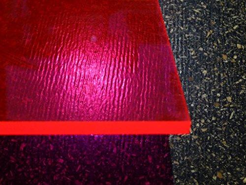 Plexiglas GS, 500 x 500 x 3mm, rot