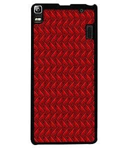 PrintVisa Zigzag Vector High Gloss Designer Back Case Cover for Lenovo K3 Note :: Lenovo A7000 Turbo