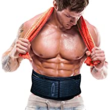 The Shred Belt – Cinturón reductor de cintura, Quemador de grasa abdominal, Cinturón tonificador, Cinturón reducto puntual, Reductor de cintura, Reductor de grasa. (Medium - Fits 28in to 38in Waists)