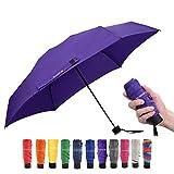 Travel Umbrella Mini Small Lightweight Umbrella for Backpack/Purse/Pocket, Fit